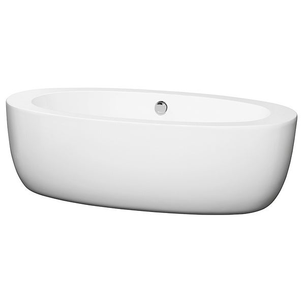 Wyndham Collection UVA Free Standing Soaking Bathtub