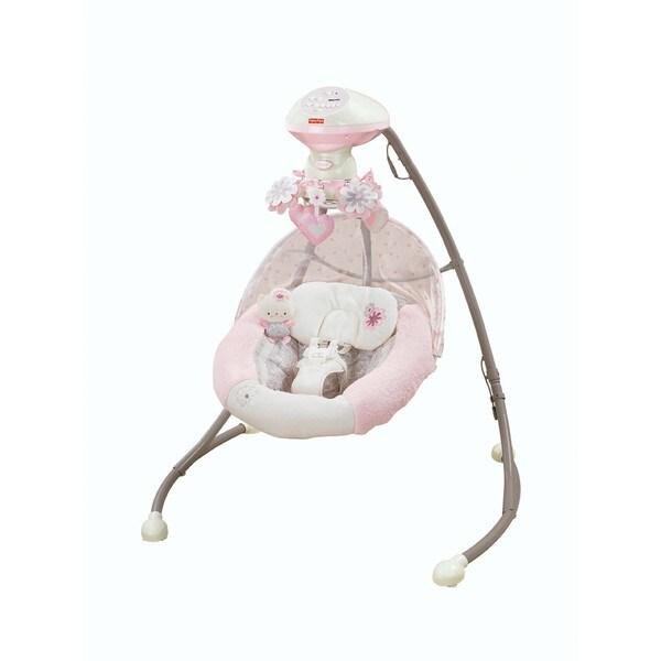 Fisher-Price My Little Sweetie Deluxe Cradle 'n Swing