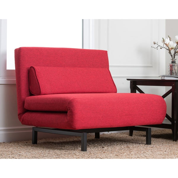 Abbyson Living Verona Fabric Convertible Sleeper Chair Bed Free – Convertible Chair Sleeper Bed