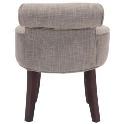 Safavieh Rochelle Dark Grey Vanity Chair