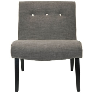 Safavieh Mid-Century Noho Grey Lounge Chair
