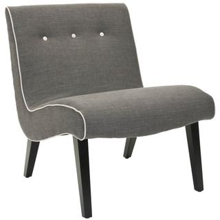 Safavieh Mid-Century Noho Grey Lounge Chair
