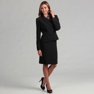 Tahari Women's Asymmetrical Skirt Suit