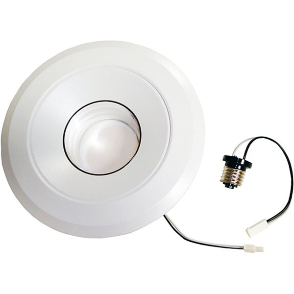 homeselects 6 inch retrofit led recessed light free shipping today. Black Bedroom Furniture Sets. Home Design Ideas