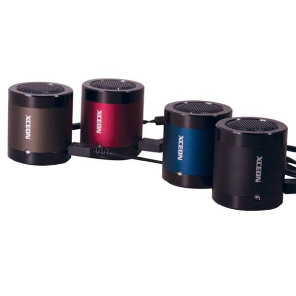 Xzonic Rechargeable Grey Mini Speaker