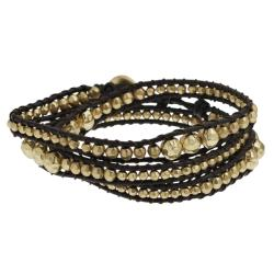 Goldtone Wrap-around Bracelet
