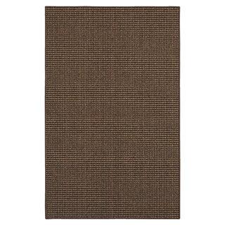 San Juan Tan/Black Rug (1'8 x 2'6)