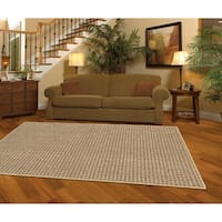Mohawk Home San Juan Tan/Red Rug (5' x 7') - 5' x  7'