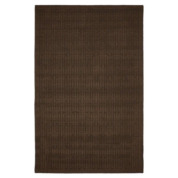 Stacks Mink Brown Rug (1'8 x 5')
