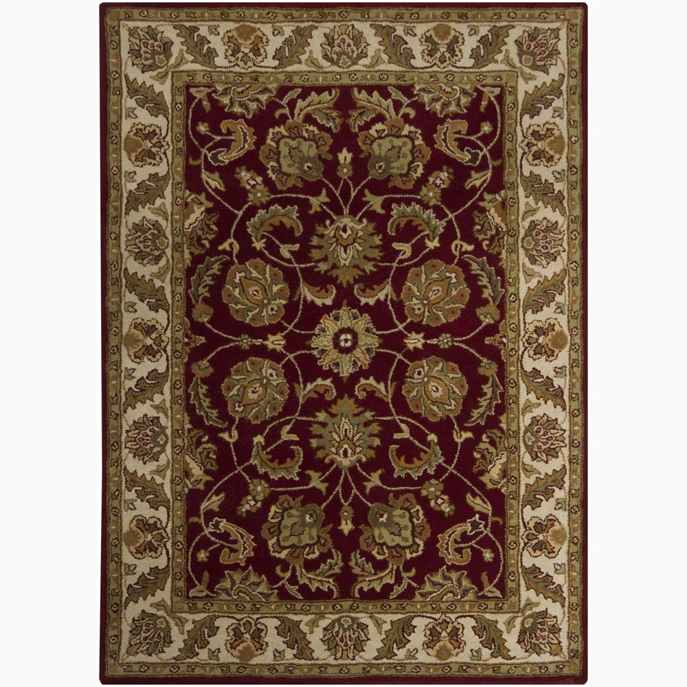 Artist's Loom Hand-tufted Traditional Oriental Wool Rug (9'x13')
