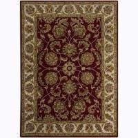 Artist's Loom Hand-tufted Traditional Oriental Wool Rug (9'x13') - 9' x 13'
