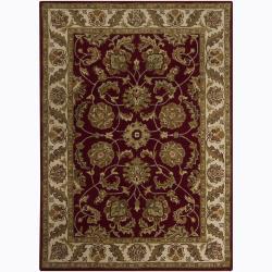 Artist's Loom Hand-tufted Traditional Oriental Wool Rug (7'x10') - 7' x 10' - Thumbnail 0