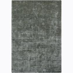 Artist's Loom Hand-woven Casual Solid Rug (7'9 x 10'6) - 7'9 x 10'6 - Thumbnail 0
