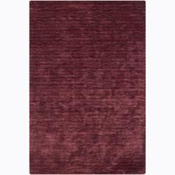 Artist's Loom Hand-woven Casual Solid Rug (5' x 7'6) - 5' x 7'6 - Thumbnail 0