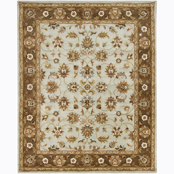 Artist's Loom Hand-tufted Traditional Oriental Wool Rug (8'x10')