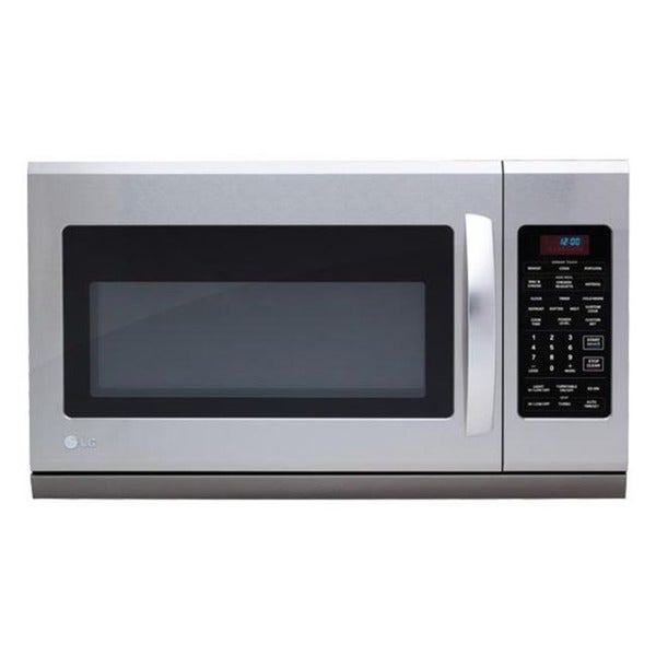 LG Stainless Steel Over-the-Range 1,100 Watt Microwave Oven