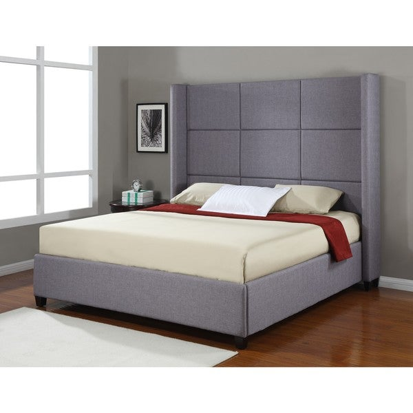 Oliver & James Jillian Upholstered King-size Bed