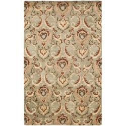 Safavieh Handmade New Zealand Wool Oasis Grey Rug (5'x 8')