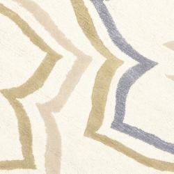 Safavieh Handmade Memories Ivory New Zealand Wool Rug (6' Round) - Thumbnail 2