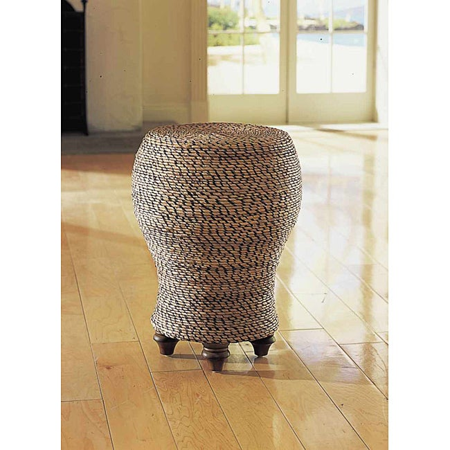 Tropical Pedestal End Table