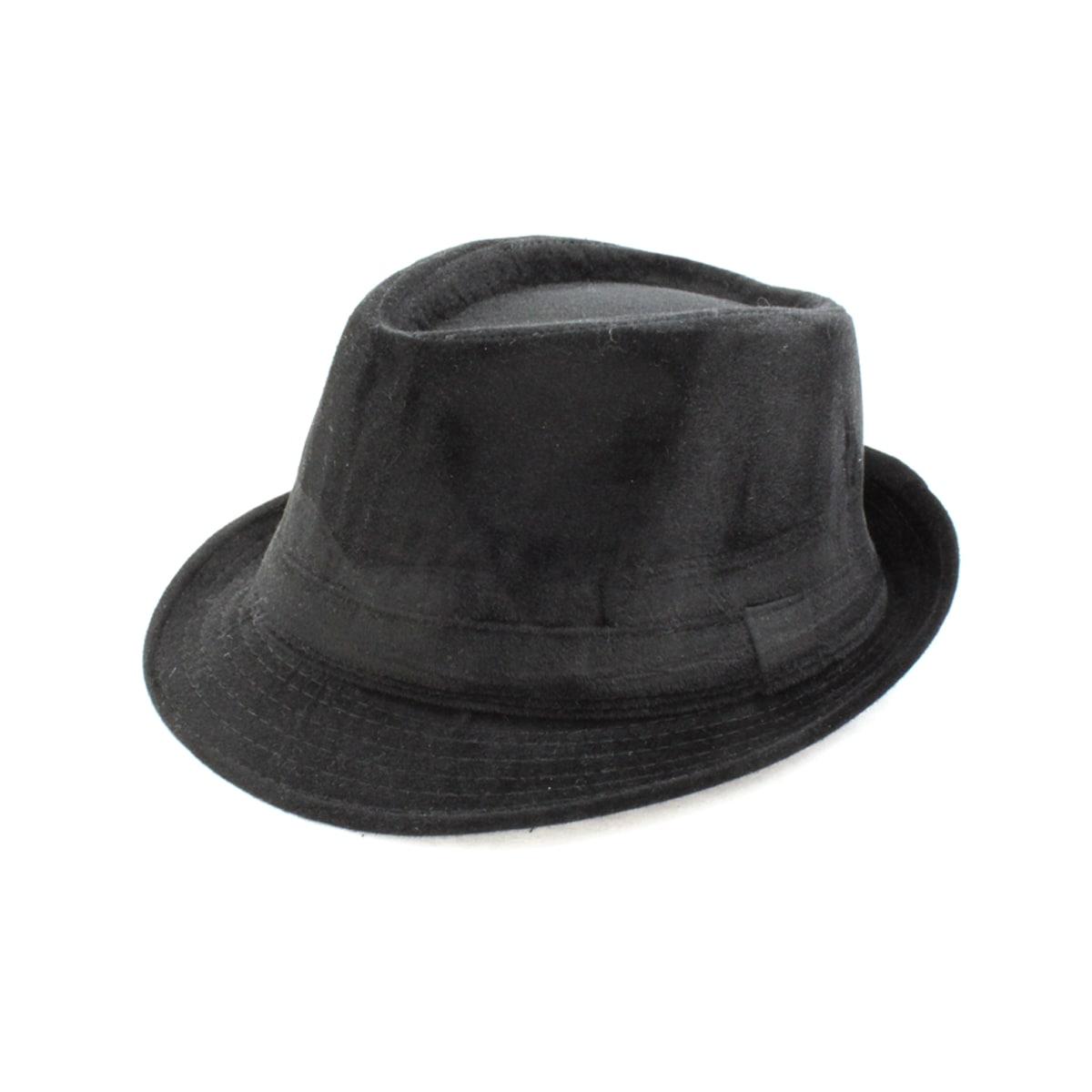 Faddism Black Fedora Hat