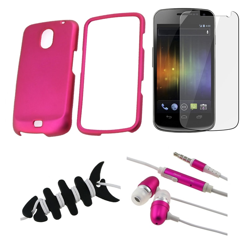 BasAcc Pink Case/ Protector/ Headset/ Wrap for Samsung Exhibit i515