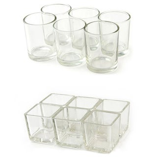 Glass Votive Candle Holders (Case of 12) (2 options available)