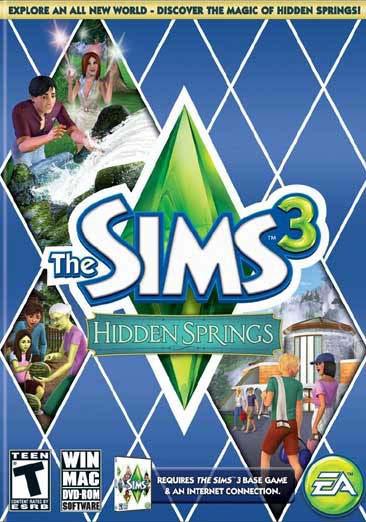 PC/Mac - Sims 3 Hidden Springs