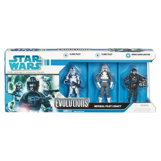 Star Wars Clone Wars Imperial Pilots 3-pack - Thumbnail 0