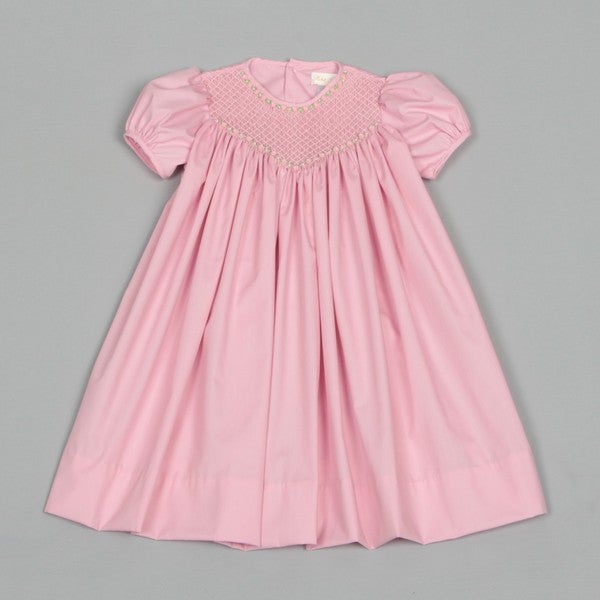 Petit Ami Toddler Girl Smocked Dress Shipping