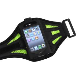 INSTEN Black/ Green SportBand for Apple iPod Touch 2nd/ 3rd Generation - Thumbnail 2