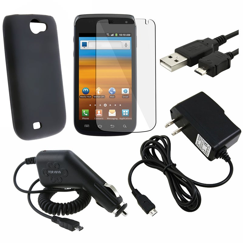 Case/ LCD Protector/ Chargers/ Cable for Samsung Exhibit II 4G T679