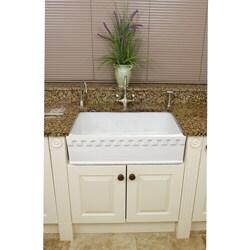 Fine Fixtures Fireclay Lichfield 28.75-inch Farmhouse Kitchen Sink