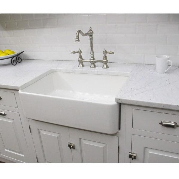 Fine Fixtures Fireclay Butler Large 29.5-inch Kitchen Sink