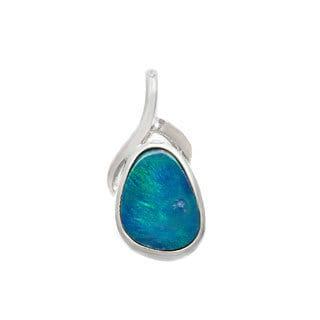 Pearlz Ocean Sterling Silver Boulder Opal Pendant