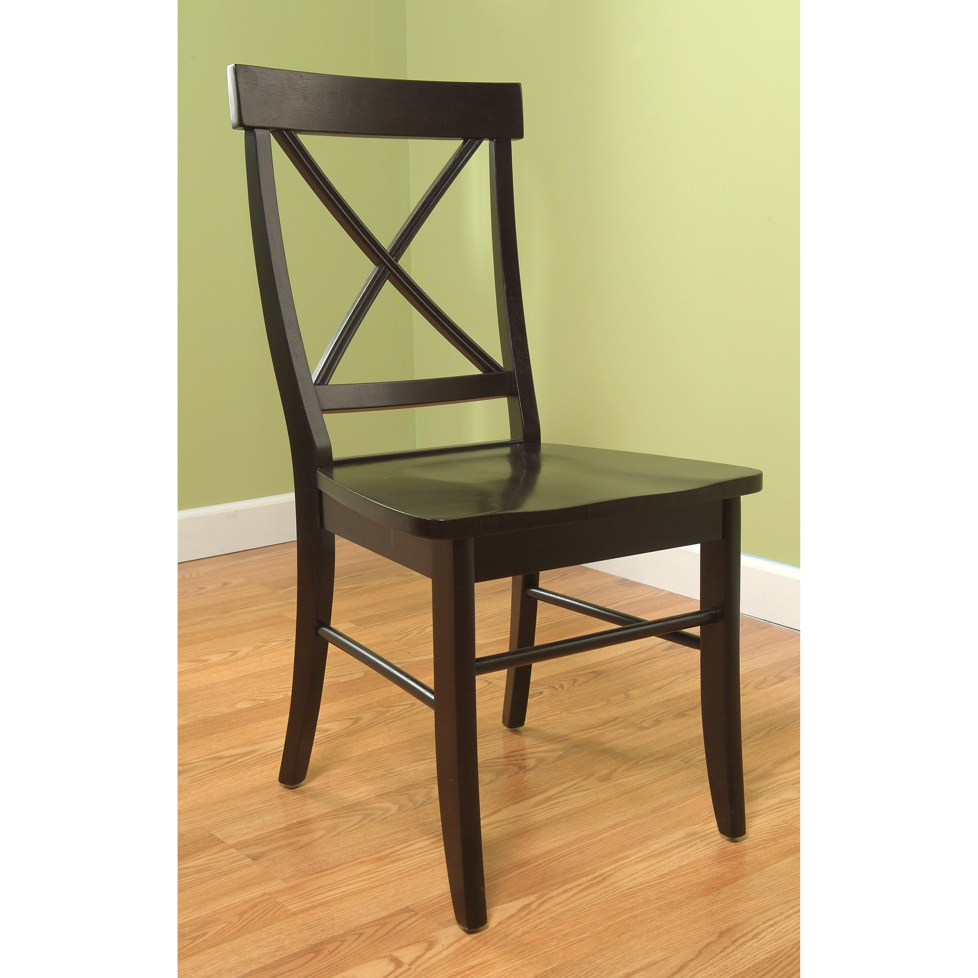Simple Living Easton Crossback Rubber Wood Chair - Thumbnail 0