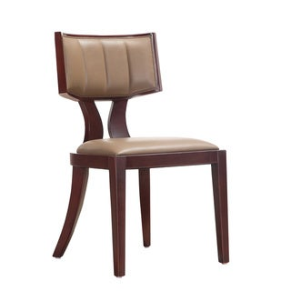 Zeus Leather Dining Chairs (Set of 2)