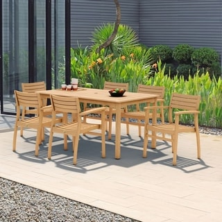 Amazonia Teak Savannah 7 piece Dining Set