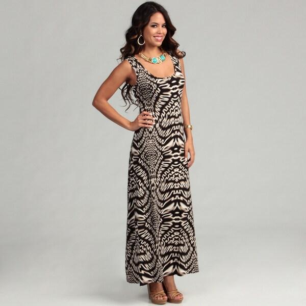 Calvin Klein Women's Bhangra Crochet Back Dress