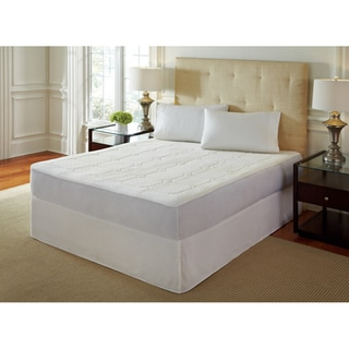 PureRest 0.5-inch Quilted Queen/King/Cal King-size Memory Foam Mattress Pad