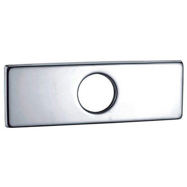 Sumerain 4 inch Single-Hole Faucet Cover Plate (Contempor...