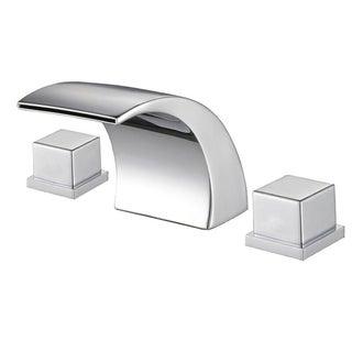 Sumerain LED Thermal Chrome Bathroom Sink Faucet