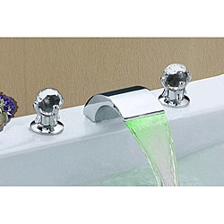 Sumerain LED Thermal Bathroom Sink Faucet