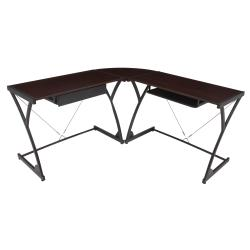 Regency Seating Modern Wood Computer L-shaped Desk
