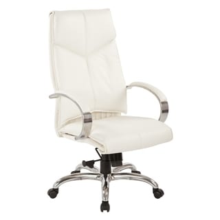 Deluxe High Back Executive Leather Chair