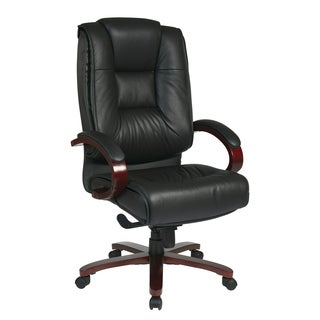 Pro Line II Deluxe High Back Executive Leather Chair