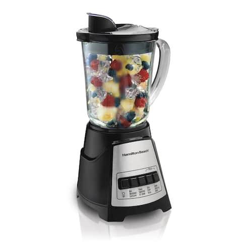 Hamilton Beach Black Multi-Function Glass Jar Blender