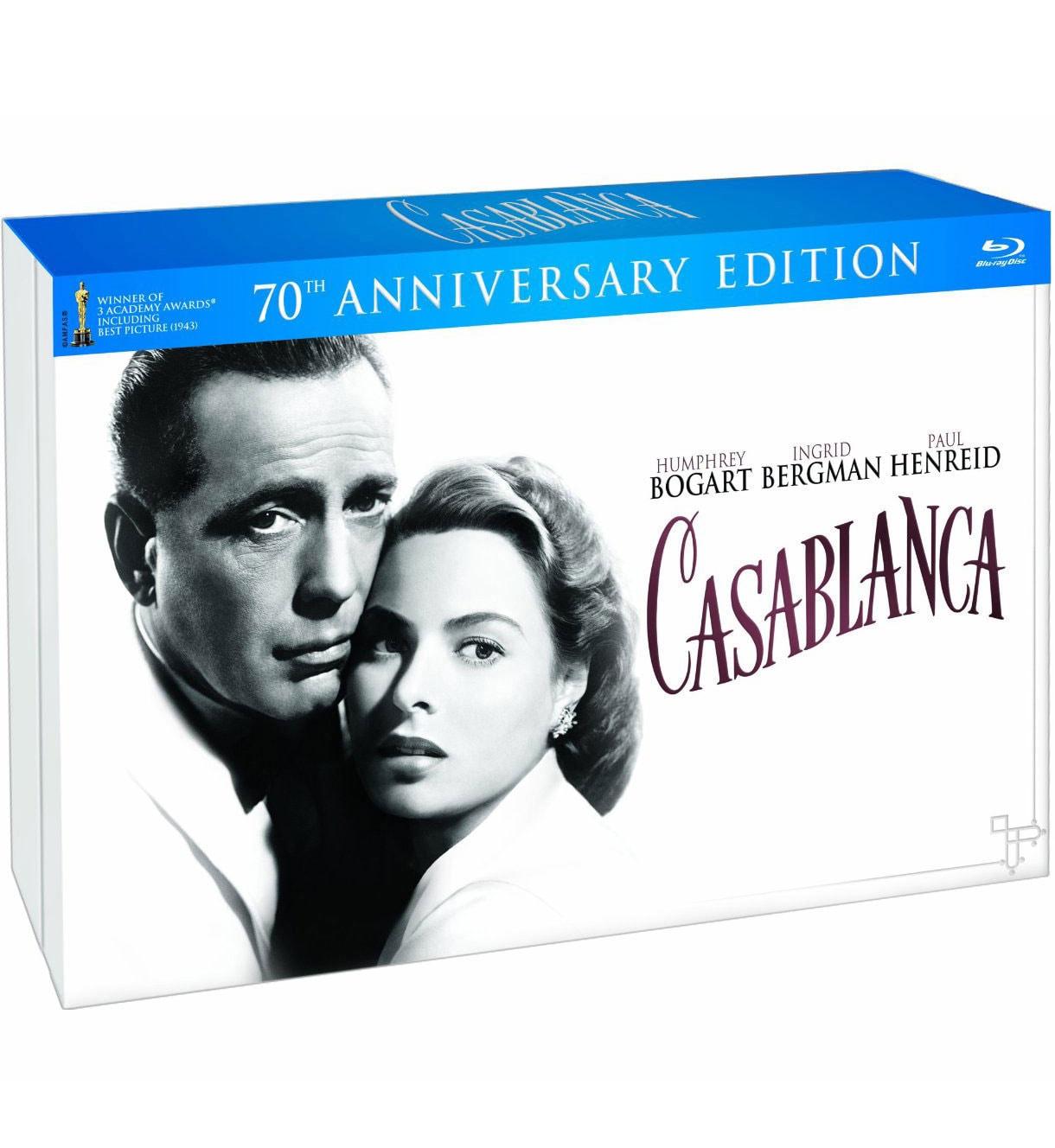 Casablanca 70th Anniversary Edition (Blu-ray/DVD)