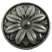 Stone Mill Hardware Weathered Nickel Mayflower Cabinet Knob (Pack of 25)