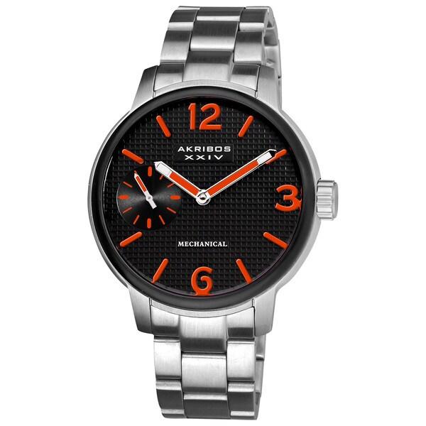 Akribos XXIV Men's Mechanical Bracelet Watch